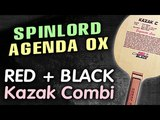 SPINLORD Agenda OX - block &amp chop-block on RED + BLACK Kazak C (Kazak Combi)