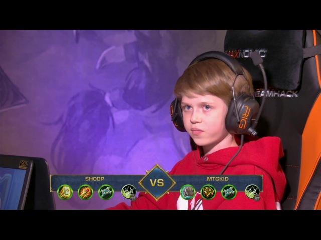 Самый юный профессиональный игрок в Hearthstone – MTGKid