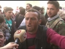 Raw footage civilians escaping the East Ghouta