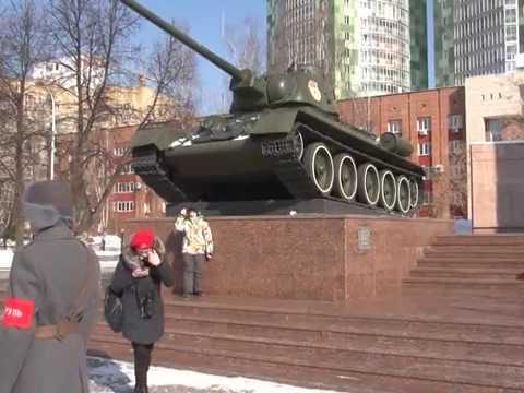 В Перми отметили 75 летие Уральского добровольческого танкового корпуса