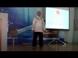 Цигун для начинающих. Снимаем напряжение. Фрагмент тренинга. В. Силаев из Новосибирская.