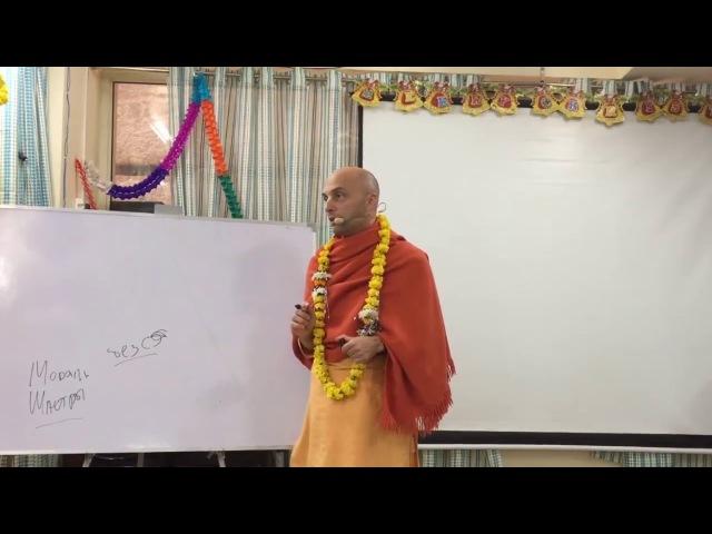 23 лекция. Бхагавад-Гита. Глава 7 (Вриндаван, 02.01.2018) Ватсала дас