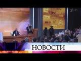 Президент Владимир Путин рассказал о деталях своей поездки на российскую авиабазу в Сирии