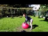 Тренировка спины для девушек Как укрепить мышцы спины дома