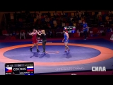 Чемпионат Европы. Греко-римская борьба. Novak vs Abacharaev