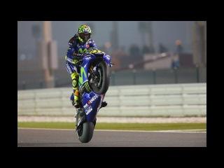 Valentino Rossi Adam Lambert Runnin' 2017