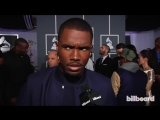 Frank Ocean: Grammys 2013 Red Carpet
