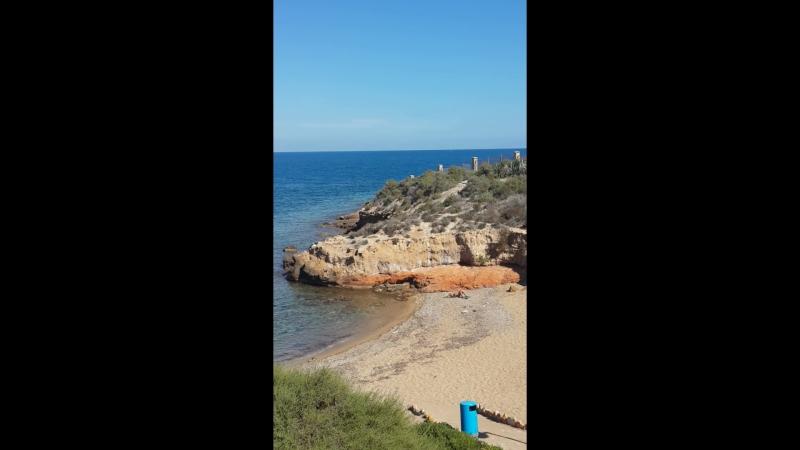 Вид с маяка Кабо де Палос на бухту