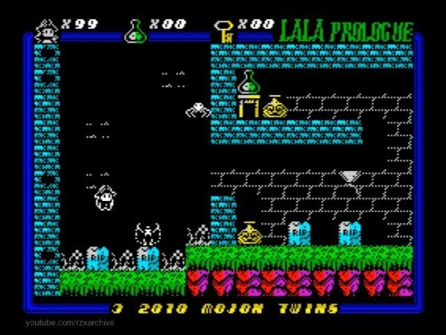 Lala Prologue Walkthrough, ZX Spectrum