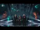 Roby Facchinetti e Riccardo Fogli con Giusy Ferreri Il segreto del tempo Quarta serata Sanremo 2018
