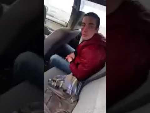 Задержание неадекватной водительницы 28 03 18