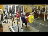Алексей Никулин - присед 245 кг с паузами