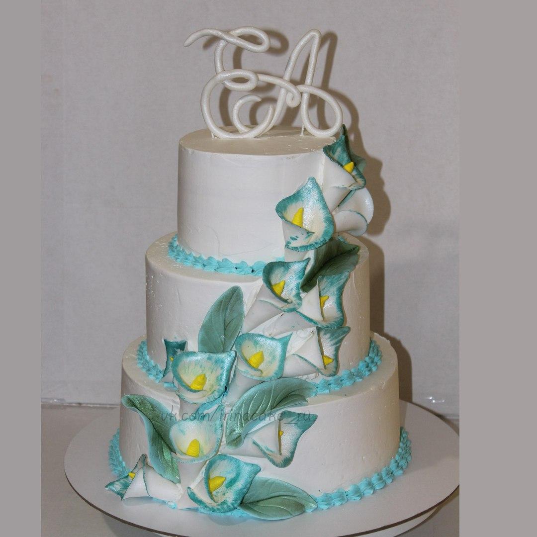 "Свадебный торт ""Каллы"" (арт. 32)"