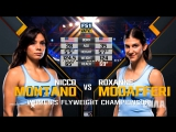THE ULTIMATE FIGHTER FINAL Nicco Montano vs Roxanne Modafferi