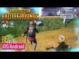 PlayerUnknown's Battlegrounds Mobile - FIRST BETA GAMEPLAY - iOS / Android (Unreal Engine 4)