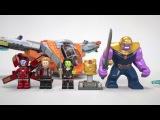 Thanos Ultimate Battle - LEGO Marvel Super Heroes - 76107 Product Animation