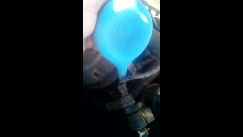 проверка клапана адсорбера 1,6-126