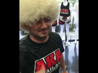 Михаил Галустян в AKA Thailand. Привет Хабибу 😁