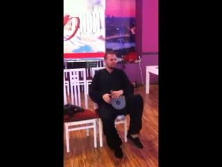 Алекс Чараев показал класс игры на барабанах