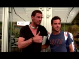 Марко Чеккинато и Марат Сафин на Ролан Гаррос 2018