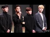28.11.17 Награждение B.A.P (비에이피) «K-Pop Star Award» на 25th Korea Culture&Entertainment Awards - (Fancam) by 니키식스