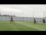 Месси провел тренировку со сборной Аргентины в Москве
