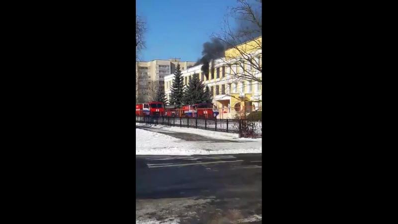 Пожар ул.Брестская. Pinsk is love