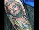 Идеи татуировок ( Мастер Carlos Breakone )