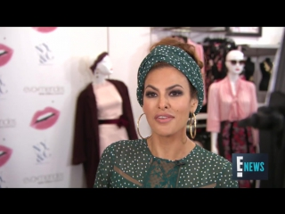 Eva Mendes Talks Extending Sizes for NY  Co. Collection - E! Live from the Red Carpet