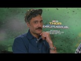 Director Taika Waititi answers fan questions on This Week in Marvel Podcast