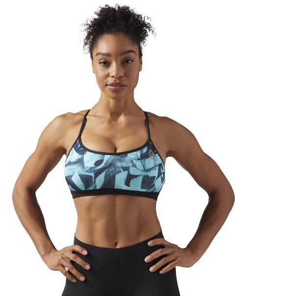 Спортивный бра Reebok CrossFit Strappy Pokras Lampas