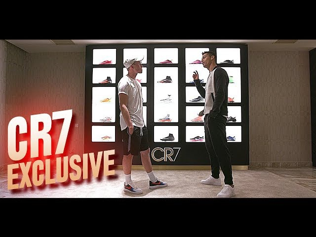 Cristiano Ronaldo talks about his new football boots his future at Real Madrid