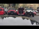 Проучили как не надо парковаться