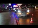 В Москве автомобиль сбил семью с 2-х летнем ребенком на пешеходном переходе