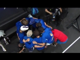 Nick Kyrgios will do anything he can to get one up on Team Europe