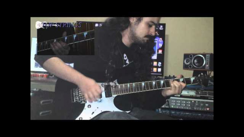 TS12 - Yngwie Malmsteen - Anguish and Fear, Javier M, cover
