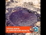 Утечка нефти в Саратовской области