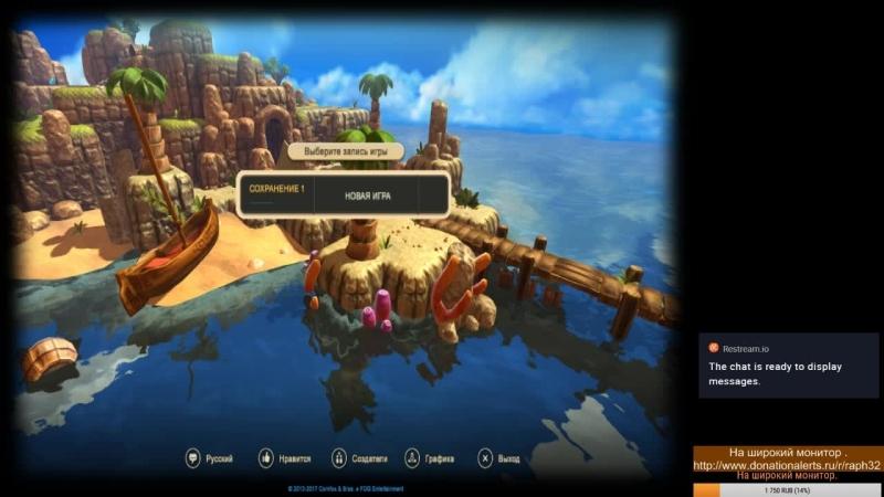 Oceanhorn - Monster of Uncharted Seas (PC) Стрим 01.