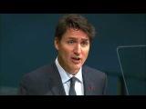 Выступление премьер-министра Канады Джастина Трюдо на Генассамблее ООН
