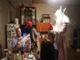 Дед Мороз и Баба яга в гостях у Ивановых