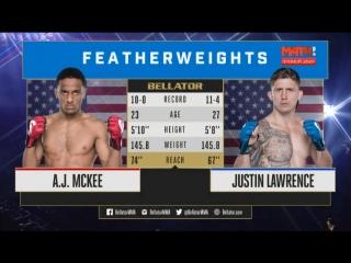 Bellator 197: AJ McKee vs. Justin Lawrence