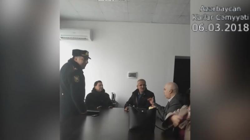 Конфликты между вице-президентом Азербайджанского общества глухих « решение