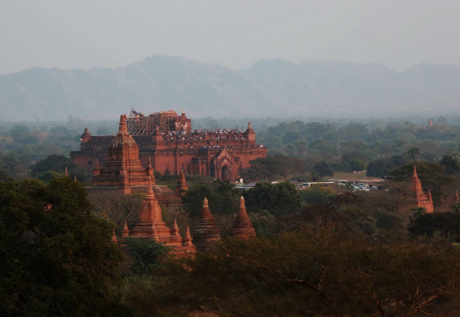 Древний буддистский город Паган (он же Баган) в Бирме (Мьянме)