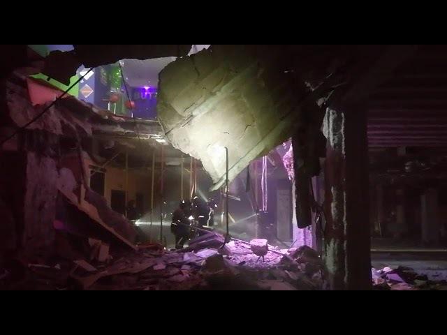 Se derrumba el suelo de una discoteca en Playa de Las Américas (1)