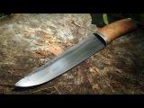 Making a Take-Apart Puukko Knife With Hamon