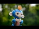 Обезьянки Fingerlings Baby Monkey