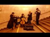Однажды в Питерском метро (красивая музыка)