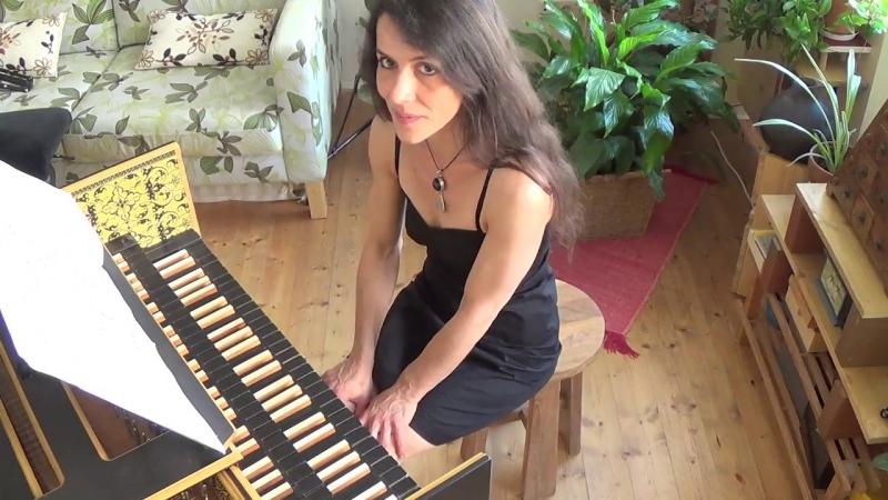 906 J. S. Bach - Fantasia and Fugue in C minor, BWV 906 - Chiara Massini, harpsichord