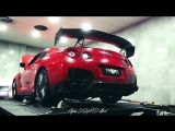 Nissan GTR Insane Flames and Loud Exhaust Sound - Custom Car by DS Performance