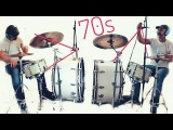 How to record dynamic DRUM tracks with just the ROOM MIC a la Led Zeppelin